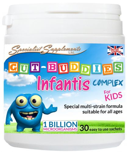 Gut-Buddies Infantis Complex For Kids. Probiotic Powder.
